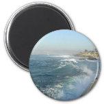 La Jolla Cove Ocean Beach Waves Magnets