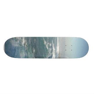 La Jolla Cove Ocean Beach Waves Skate Board Deck