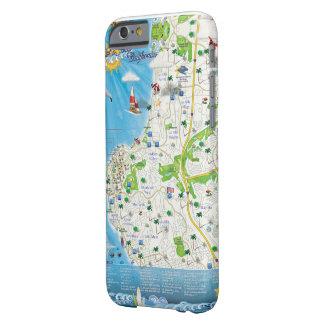 La Jolla Map Phone Case