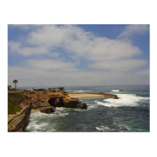 La Jolla Seal Beach Postcard
