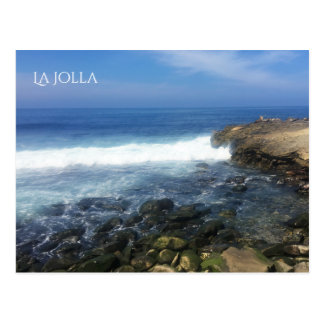 La Jolla Seaside in San Diego Postcard