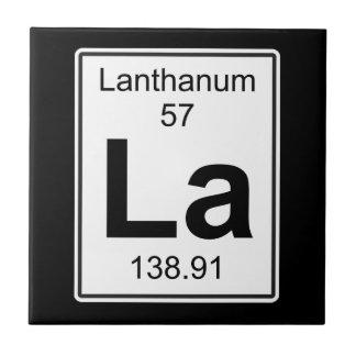 La - Lanthanum Ceramic Tile