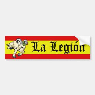 La Legión Bumper Sticker