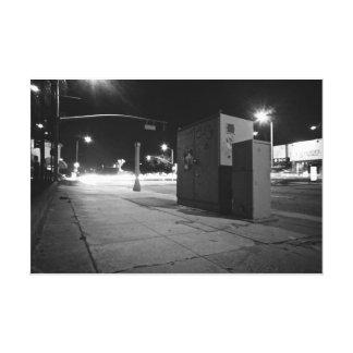 LA Light Streams Canvas Print