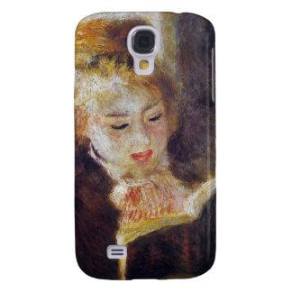 La Liseuse (The Reader) - Pierre Auguste Renoir Galaxy S4 Case