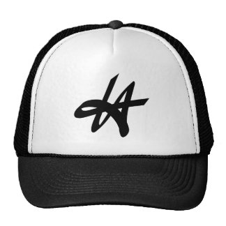 LA Los Angeles graffiti tag logo design Cap