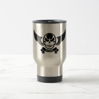 La Lucha 100% coffee travel mug