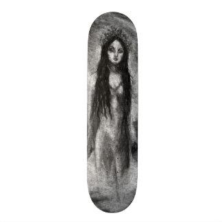 La Luna Dark Angel Fairy Original Art Skate Deck