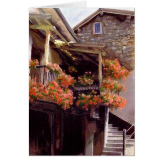 La Maison des Fleurs Card