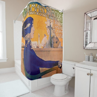 la maison shower curtain