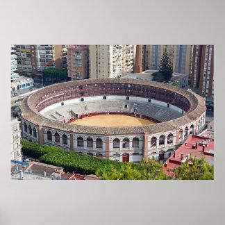 La Malagueta - the bullring in Malaga Poster
