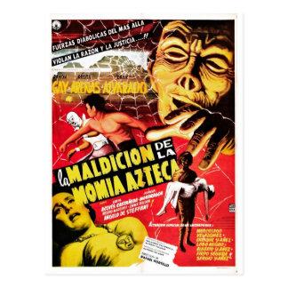 La Maldicion De La Momia Azteca Postcard