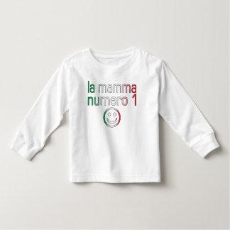 La Mamma Numero 1 ( Number 1 Mom in Italian ) Tee Shirts
