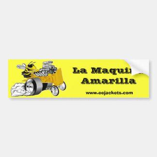La Maquina Amarilla Bumper Sticker
