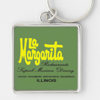 La Margarita Restaurants of Illinois Key Ring