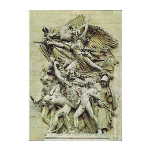 La Marseillaise Stretched Canvas Prints
