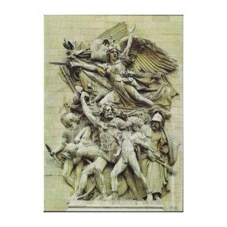 La Marseillaise Gallery Wrapped Canvas