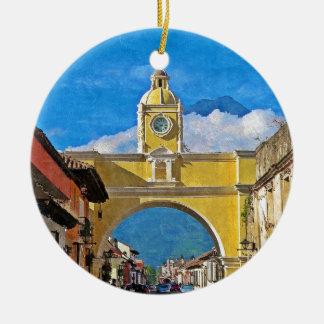 La Merced Arch - Antigua Ceramic Ornament