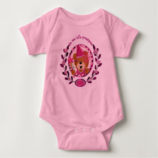 La mia  principessa baby bodysuit