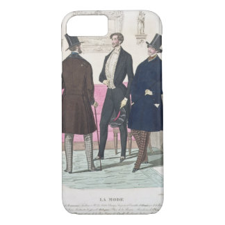 La Mode: Advertisement for 19th Century Men's Fash iPhone 7 Case