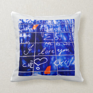 La Monde - I Love You Wall Paris Cushion