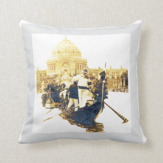 La Monde - Louisiana Purchase Exposition Cushion