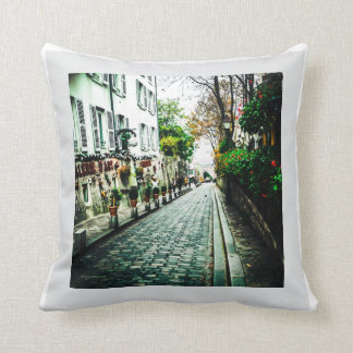 La Monde - Paris Street Pillow
