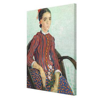 La Mousme, 1888 (oil on canvas) Gallery Wrap Canvas