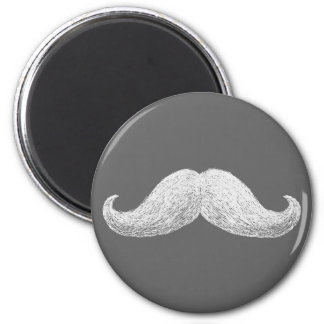 La Moustache (Dark) Magnets