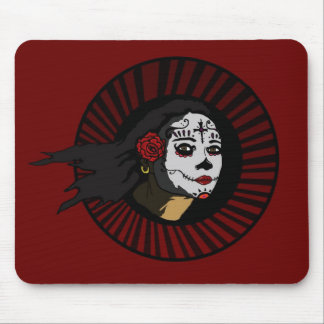 """La Muerta"" on RED Unholy Uprising Collection Mouse Pad"