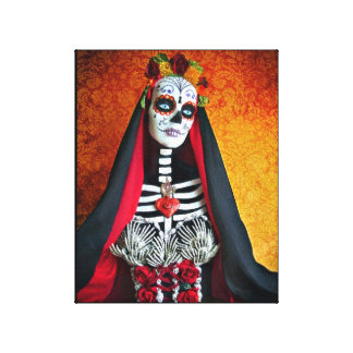 La Muerte Wrapped Canvas