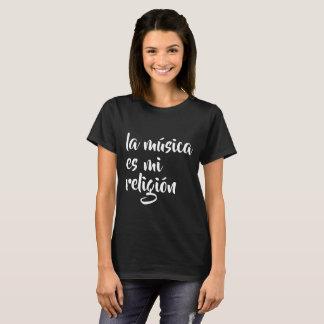 la música es mi religión T-Shirt