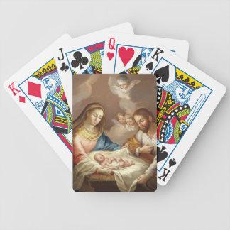La Natividad Bicycle Playing Cards