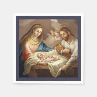 La Natividad Disposable Serviette