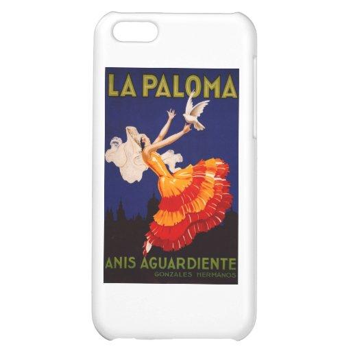 La Paloma Vintage Liquor Ad iPhone 5C Cases