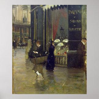 La Parfumerie Viollet, Boulevard des Capucines Poster