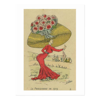La Parisienne Postcard