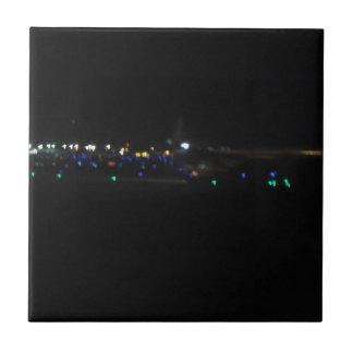La Paz en la noche Ceramic Tiles