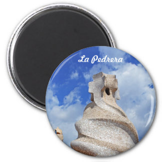 La Pedrera chimneys Magnet
