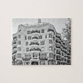 La Pedrera in Barcelona Jigsaw Puzzle