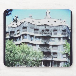 La Pedrera or Casa Mila, 1905-10 Mouse Pad