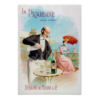 La Picardine Absinthe Supérieure Fine Art Poster