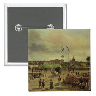 La Place de la Concorde in 1829 Pin