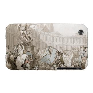 La Place des Victoires, Paris, c.1789 (pen and ink Case-Mate iPhone 3 Cases