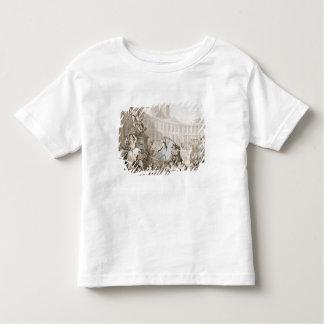 La Place des Victoires, Paris, c.1789 (pen and ink T-shirts