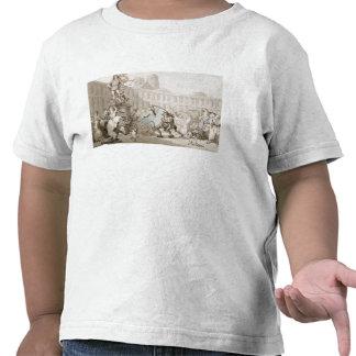 La Place des Victoires, Paris, c.1789 (pen and ink T Shirt