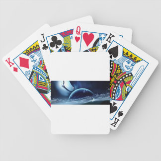 la planet terre bicycle playing cards