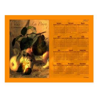 La Poire #1 2012 UK Calendar Postcard