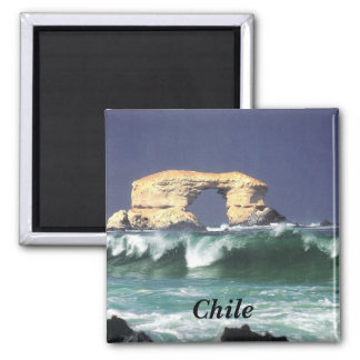 La Portada de Antofagasta Square Magnet