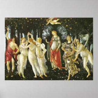 La Primavera by Sandro Botticelli Poster